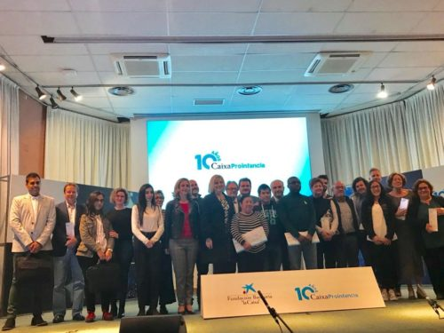 Acto por el 10º aniversario de Caixa Proinfancia en Murcia